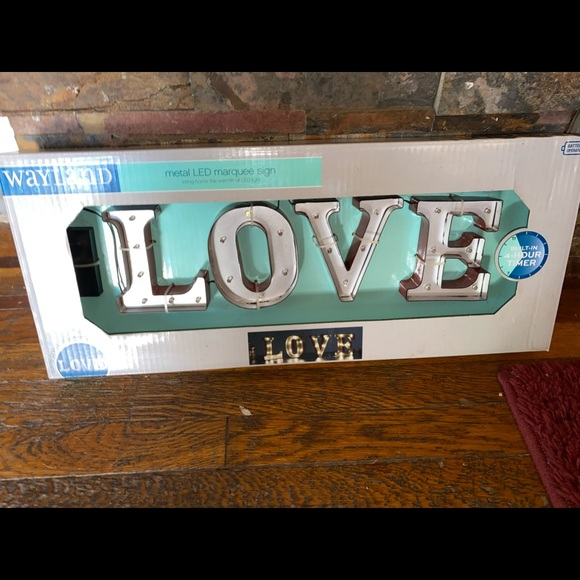 New LOVE Marquee Light Sign